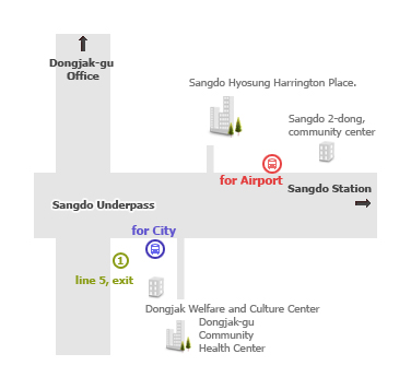 how to get to hotel shin shin from incheon airport